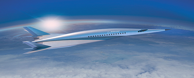 Boeing to Develop  Hypersonic Airliner