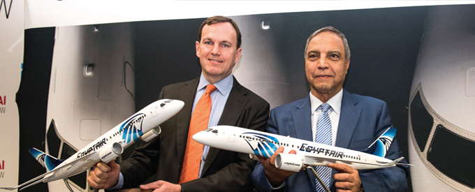 Bombardier signs LOI with EgyptAir for up to 24 CS300 aircraft
