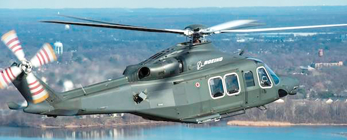 Boeing selects AW139-based MH-139