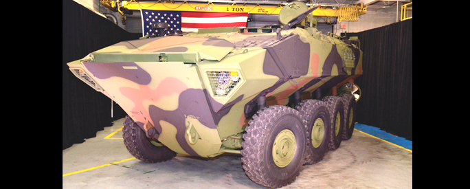 BAE Systems Rolls Out First Amphibious Combat Vehicle